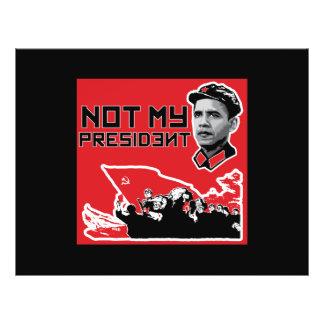 not my president fliers flyer