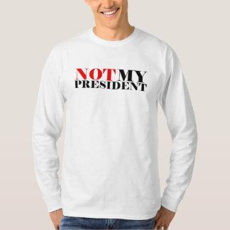 Not My President Men's Classic Long Sleeve T-Shirt