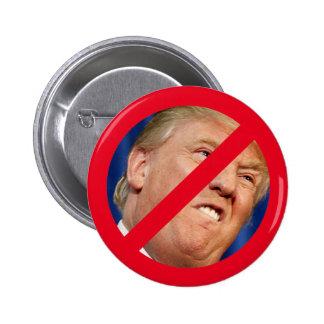 Not My President Pinback Button