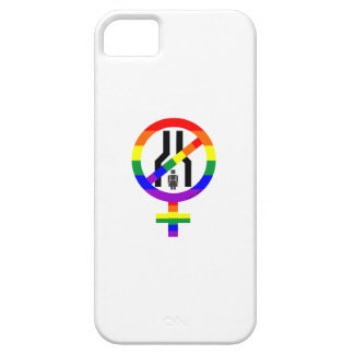 NOT NARROW MINDED WOMAN iPhone 5 CASE