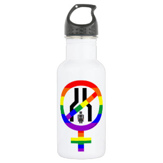 NOT NARROW MINDED WOMAN 18OZ WATER BOTTLE