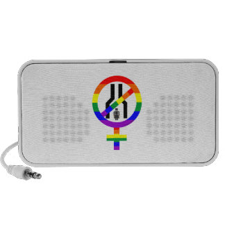 NOT NARROW MINDED WOMAN PORTABLE SPEAKER