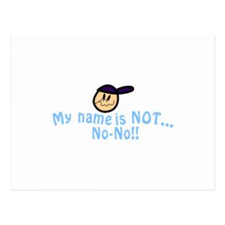 Not No-No Postcard