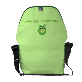Not Normal Courier Bag