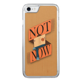 Not now, I'm reading Carved iPhone 7 Case