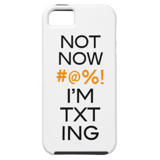 Not Now I'm Texting iPhone SE/5/5s Case