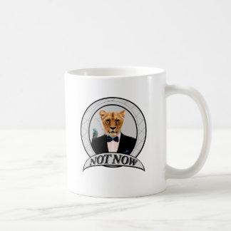 Not Now - Lion Coffee Mug
