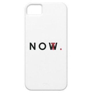 Not Now tag iPhone SE/5/5s Case