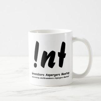 Not nt Greensboro Aspergers Meetup with web Classic White Coffee Mug