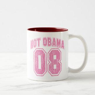 Not Obama 08 Vintage Mug