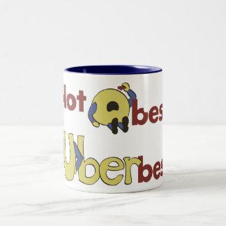 Not Obese... Uberbese! Two-Tone Coffee Mug