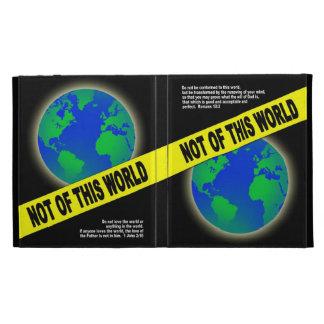 Not of this World - Romans Christian Bible Verse iPad Folio Case