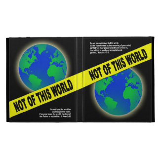 Not of this World - verso cristiano de la biblia d