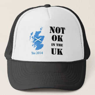 Not OK in the UK Scottish Independence Hat