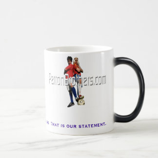 Not on a mission.  That is our statement. Magic Mug
