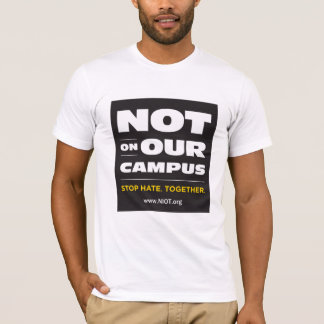 Not On Our Campus Fitted T-Shirt