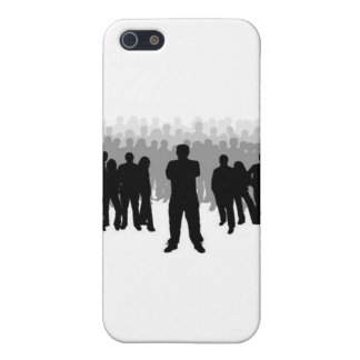 Not One of the Crowd iPhone Case