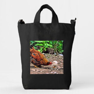 Not One Peep Out Of You! Duck Bag
