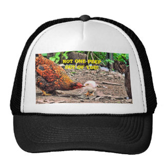 Not One Peep Out Of You! Trucker Hat