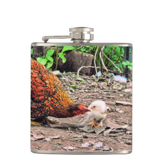 Not One Peep Out Of You! Hip Flask