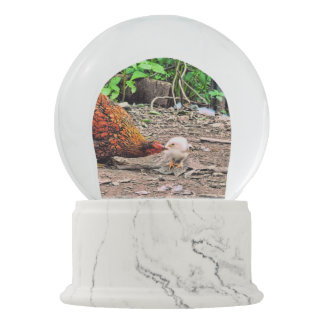 Not One Peep Out Of You! Snow Globe