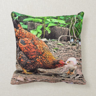 Not One Peep Out Of You! Throw Pillow