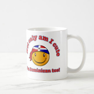 Not only am I cute I'm Dominican too! Classic White Coffee Mug