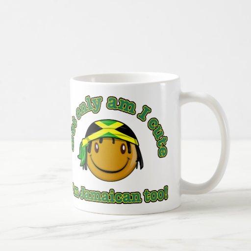 Not only am I cute I'm Jamaican too! Classic White Coffee Mug
