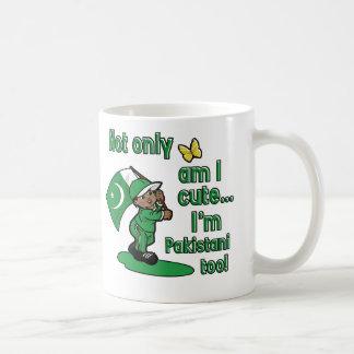 Not only am I cute I'm pakistani too! Coffee Mug