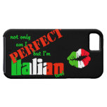 Not Only Am I Perfect But I'm Italian Too (Kiss) iPhone 5 Cases