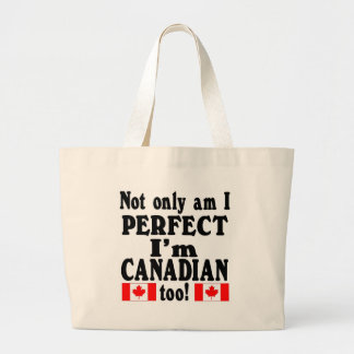 Not Only am I Perfect  mulitple items Canvas Bag