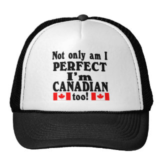 Not Only am I Perfect  mulitple items Trucker Hat