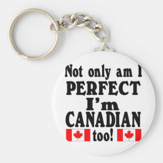 Not Only am I Perfect  mulitple items Keychain