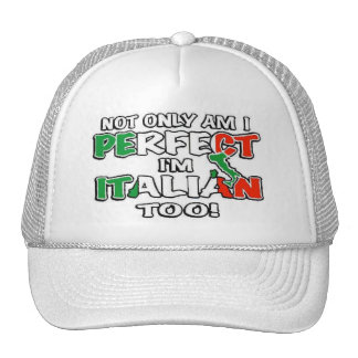 Not Only Am I Perfect... Trucker Hat