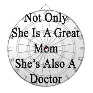 Not Only She Is A Great Mom She's Also A Doctor Dartboards