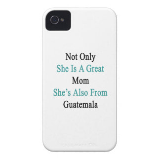 Not Only She Is A Great Mom She's Also From Guatem iPhone 4 Case