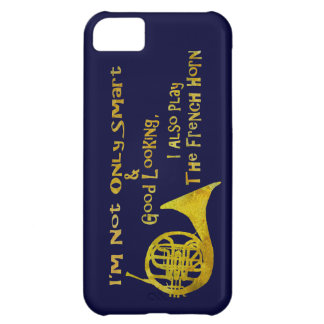 Not Only Smart French Horn iPhone 5C Cover