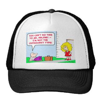 not outdoorsy type trucker hat