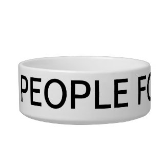 not people food pet bowl