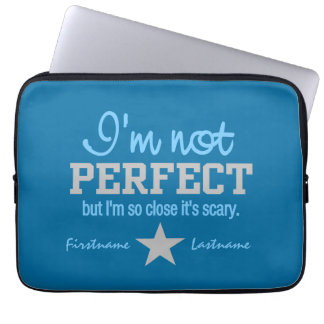 Not Perfect custom laptop sleeves