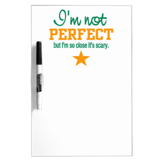 Not Perfect custom message board