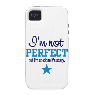 Not Perfect iPhone 4 Case-Mate, customize