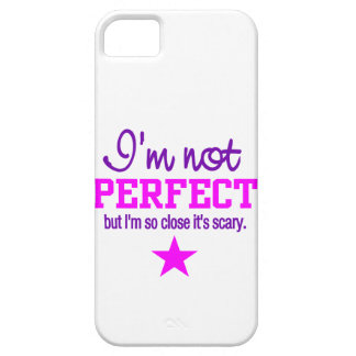 Not Perfect iPhone 5 Case-Mate, customize