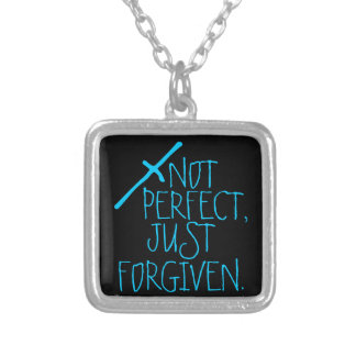NOT PERFECT, JUST FORGIVEN christian necklace