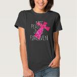 Not Perfect, Just Forgiven cross t-shirt