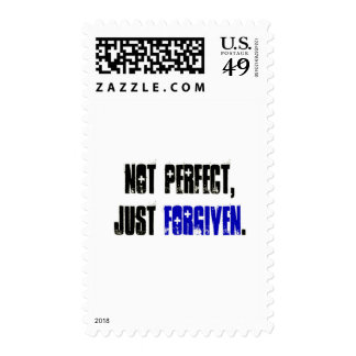 Not Perfect Just Forgiven Men's Stamps