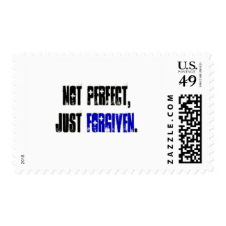 Not Perfect Just Forgiven Men's Stamp