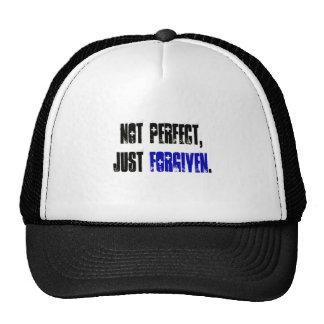 Not Perfect Just Forgiven Men's Trucker Hat