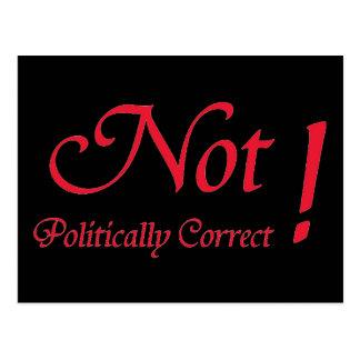 Not Politically Correct Postcard