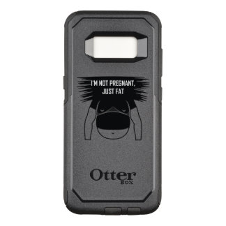 Not pregnant, just fat OtterBox commuter samsung galaxy s8 case